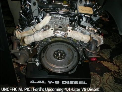 2010 Ford F-150's New 4.4L V8 Diesel Engine Gets Leaked To Internet
