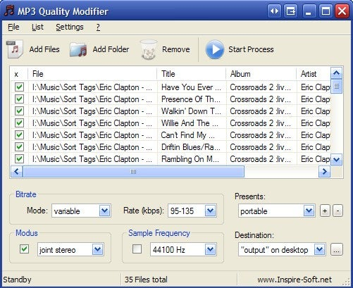 MP3 Quality Modifier Packs More Music on MP3 Players