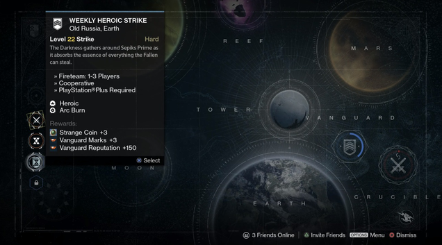 From xur the vendor who trades strange coins for extremely rare gear