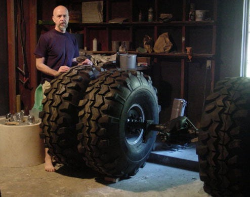 Man Builds Batman Tumbler Replica Single-Handedly