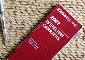 Verizon Dominates Zagat's First Cellphone Carrier Survey
