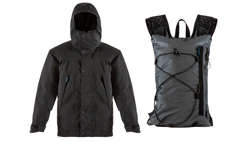 When the Storm Clears Up, This Raincoat Transforms Into a Backpack