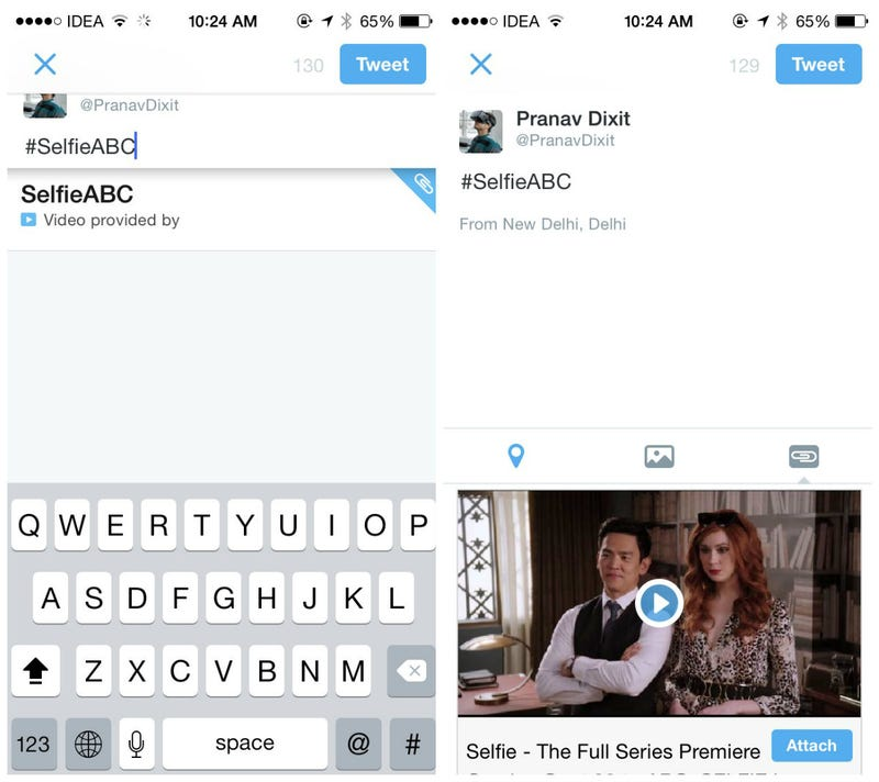 Twitter Might Start Attaching Promoted Media To Your Hashtags