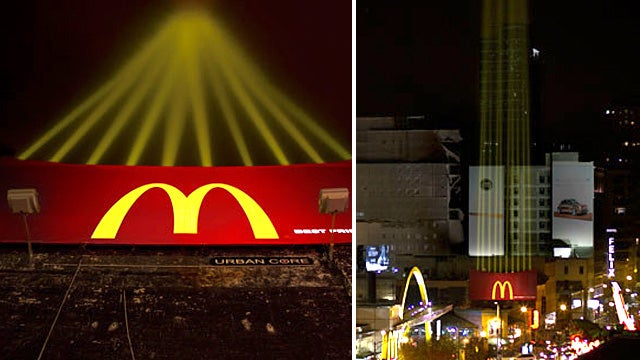 McDonald's Creates a Light Version Of Its Fries For Their New Billboard
