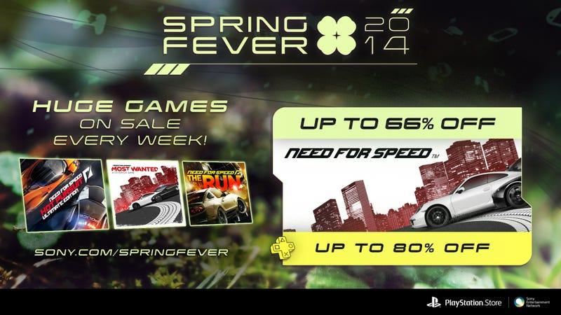 Embrace Spring Fever With Huge Savings on PSN Favorites