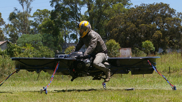 The Hoverbike of My Dreams Is Almost Real