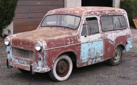 Israeli Wagon Goodness Can Be Yours: 1963 Autocar Sussita