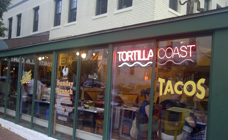 What role did this D.C. Taco Joint play in the Federal Shutdown?