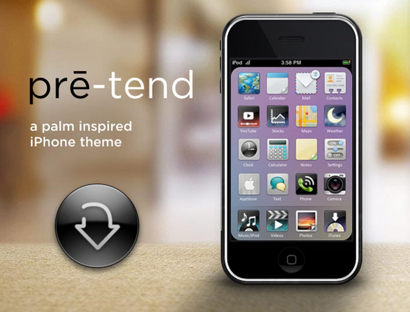 Here's That iPhone Pre Theme You Wanted