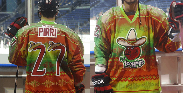 AHL Team Will Wear Racist Jerseys In Celebration Of Hispanic Heritage Weekend