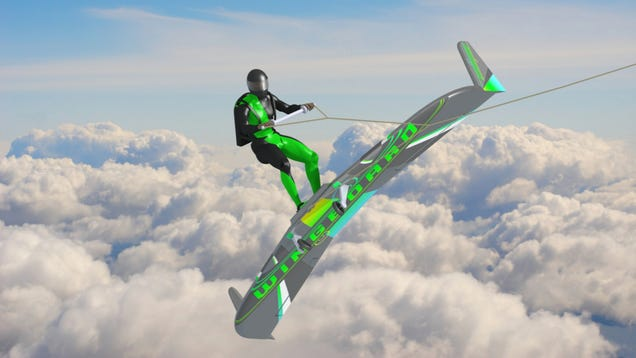 Wingboarding Could Be The Next Extreme Sport For Batshit Insane People