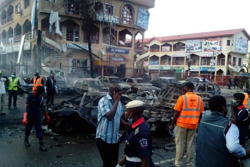 At Least 21 Dead in Explosion at Nigerian Shopping Mall