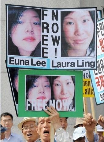 North Korea Sentences American Reporters to 12 Years Hard Labor