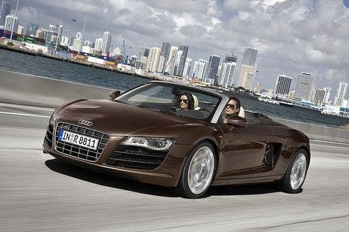Audi R8 Spyder Drops Top, Embargo Ahead Of Frankfurt