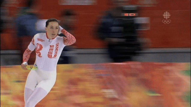 Russian Skater Gets Away With False Start Thanks To Broken Starter Pistol