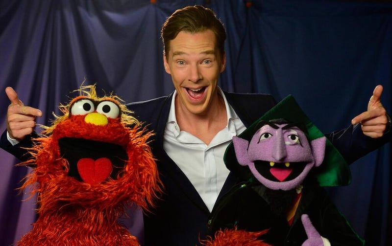 Benedict Cumberbatch is leaving Baker Street for Sesame Street