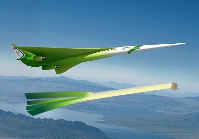 NASA Concept Aircraft Looks Like a Flying Vegetable