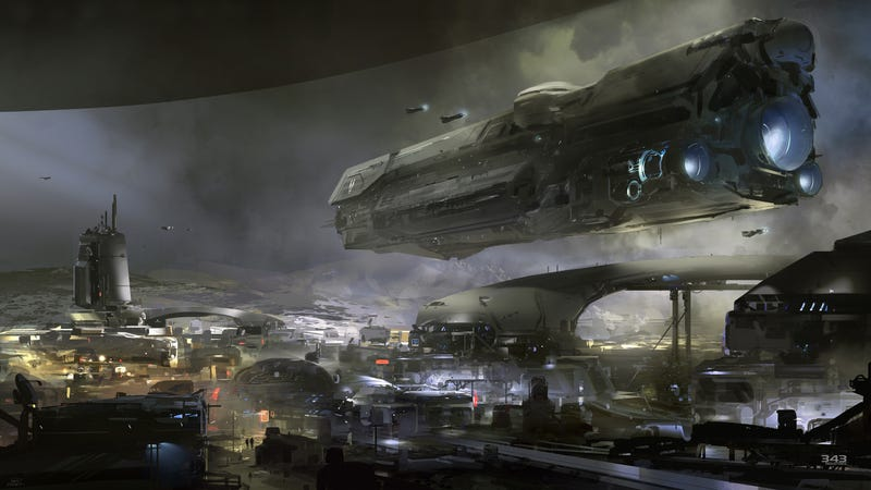 ​Huge Image Gives a Little Peek Into the Next Halo