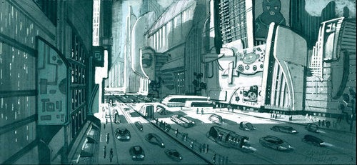 The Secrets Of Astro Boy's Floating Robot City