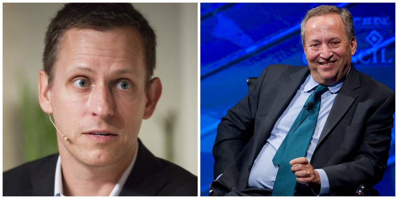 Summers: Thiel Fellows Is 'Most Misdirected Piece Of Philanthropy'