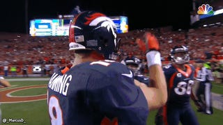 Manning's Keep-Away Celebration Was Planned, Practiced, Therefore Corny