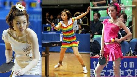 Table Tennis Needs More Fans; Solution: Women Should Dress Sexier