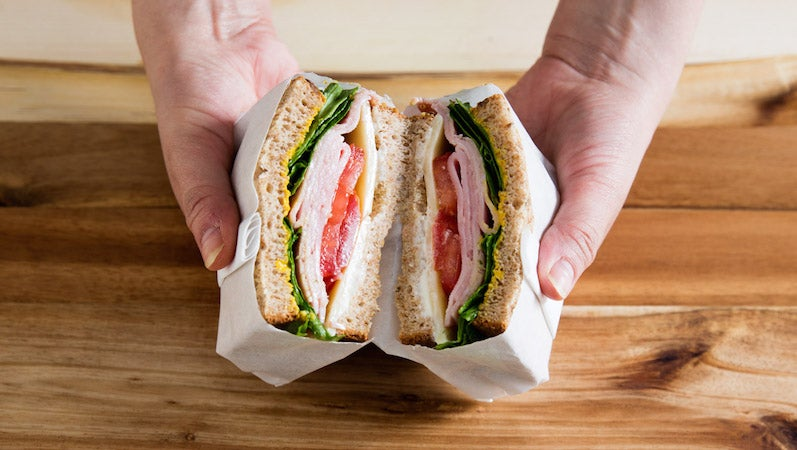 The Best Way to Wrap a  Sandwich for on the Go Eating