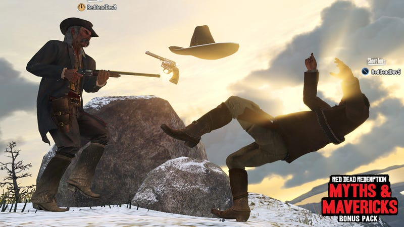 Don't Forget To Grab Your Red Dead Redemption Myths and Mavericks Next Week