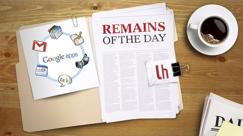 Remains of the Day: Google Apps Accounts No Longer Free For Individuals