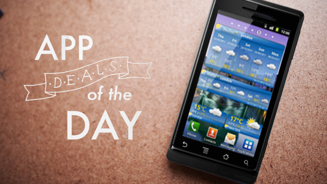 Daily App Deals: Get WeatherPro for Android for Only 99¢ in Today's App Deals