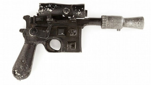 You Could Own Han Solo's Blaster From The Empire Strikes Back