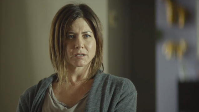 Jennifer Aniston Is at Maybe 20% Theron in the Trailer for Cake