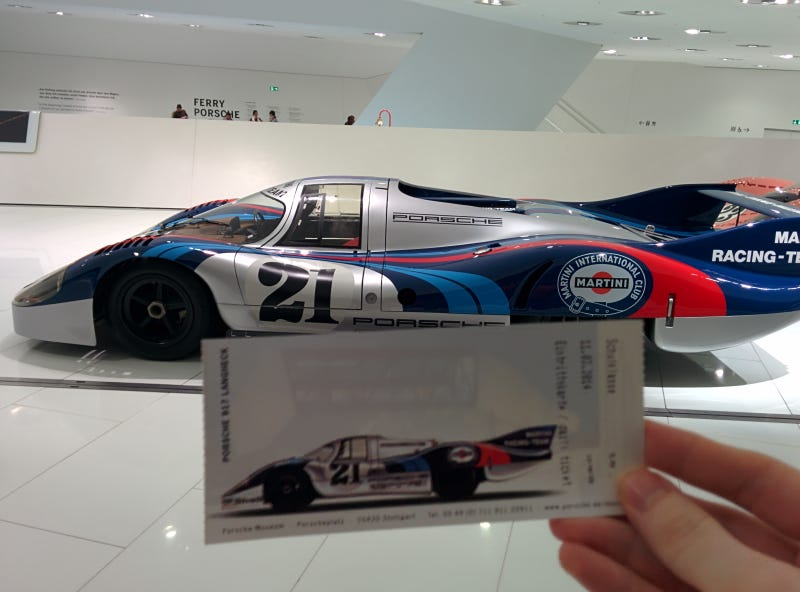 I Went To The Porsche Museum Last Month