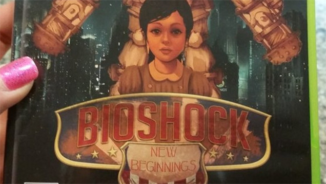 """Adorable BioShock Proposal Asks """"Would You Kindly Marry Me?"""""""