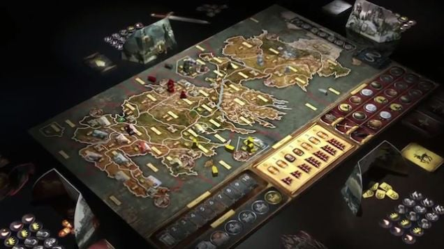 The Terrific Game of Thrones Board Game is Full of Violence and Betrayal, Void of Sex