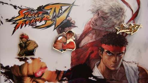 The Official Street Fighter IV Pins of TGS