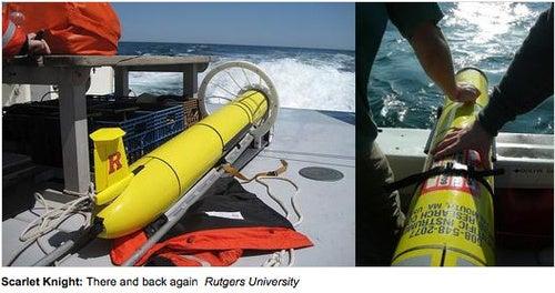 Robotic Sea-Glider Achieves First Unmanned Underwater Transatlantic Crossing