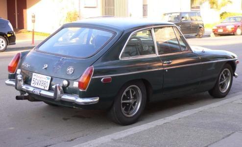 1971 MGB-GT