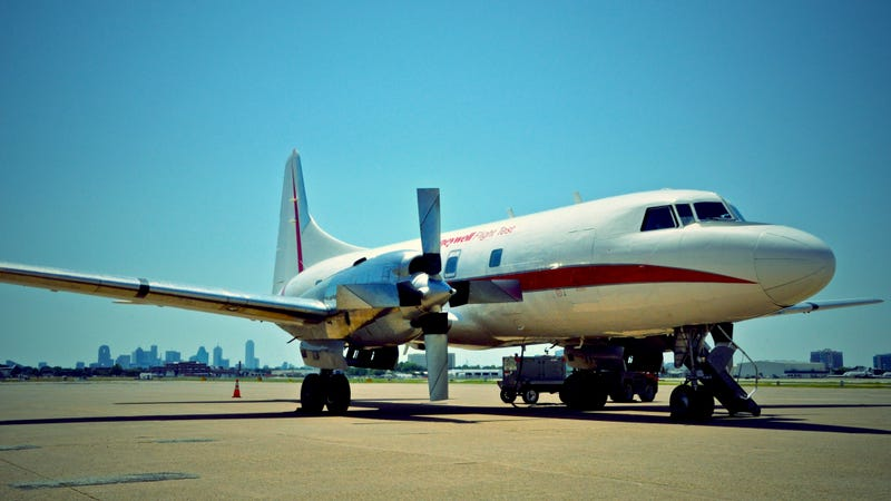 Stormchasing In A 62-Year-Old Plane Provides A Glimpse Into The Future