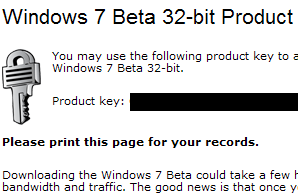 Microsoft Extends Windows 7 Beta Availability (Again) to Feb. 12
