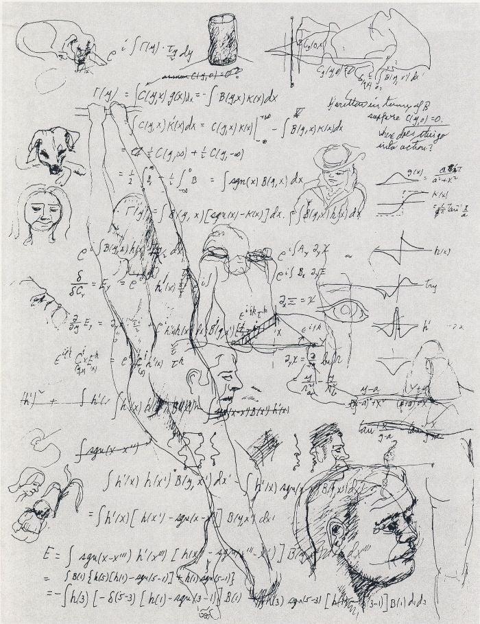The Unexpected Artwork of Physicist Richard Feynman