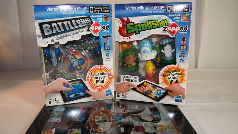 Apps Plus Toys: Zapped Battleship and Spellshot