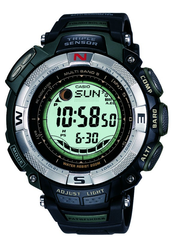 Casio Pathfinder Measures Altitude and Tides; Oceanus For Divers With Dough