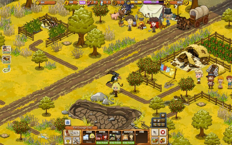 FrontierVille Sequel Pioneer Trail Gets Zynga a Little Closer to Making Hardcore Games, Limits Friends