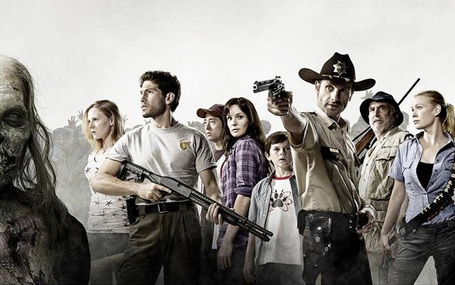 First full cast picture from AMC's The Walking Dead