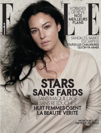 "Stars Without Makeup!!! Is The New French Elle A ""Step Back""?"