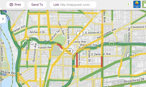 New MapQuest Gets Full-Width Maps and Scroll Wheel Zoom