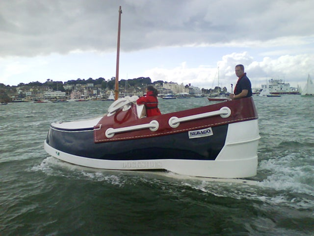 Stick Your Feet into the Boat Shoe Boat