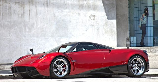Is This The World's Ugliest Pagani Huayra?