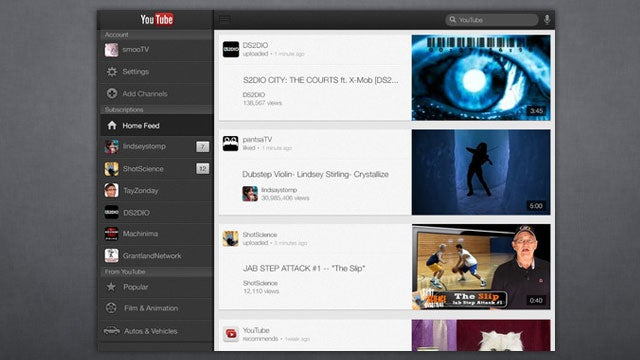 Google Releases YouTube For iPad, Filling the Remaining Gap on iOS 6